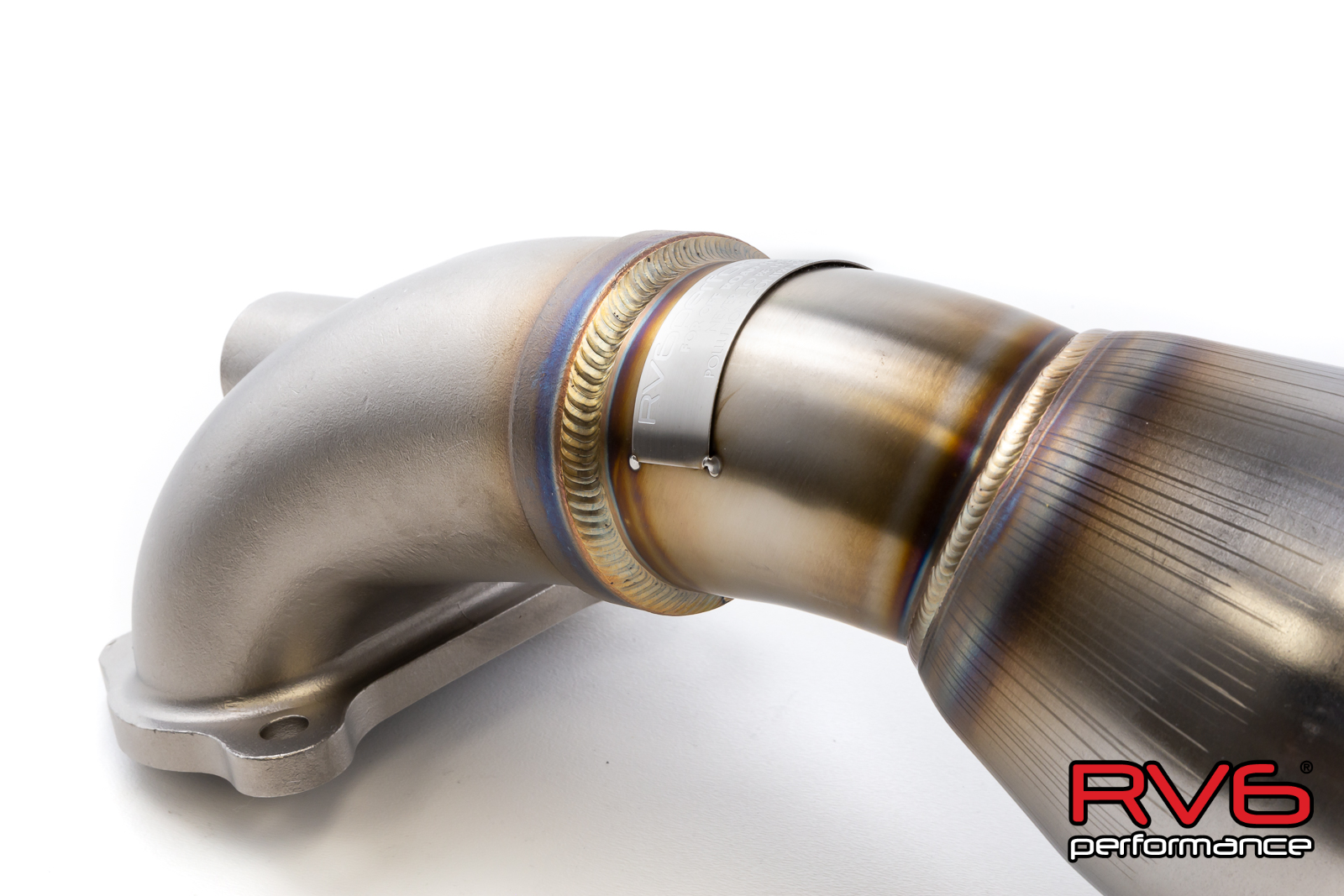 RV6™ Catted Downpipe for 2016+ Civic 2.0L (Sedan, Coupe)