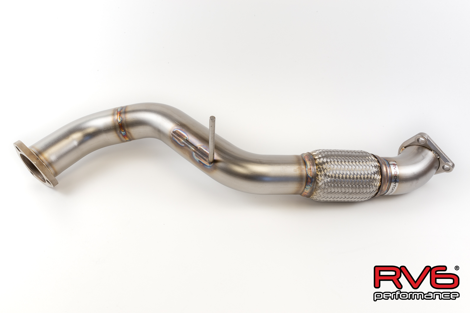RV6™ Front Pipe for 17+ Civic Type-R 2.0T FK8